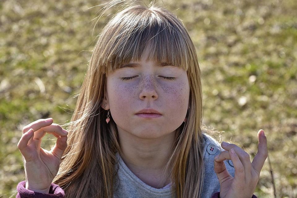 medytacja dziecko