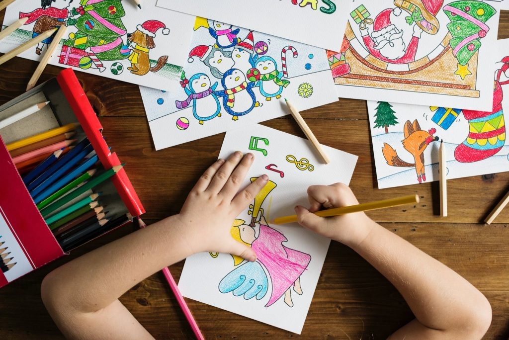 dziecko kreatywne